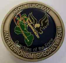 AFOSI AF Office of Special Investigations European Anti-Terrorism Specialty Team
