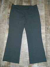 Focus 2000 Gray Careers Dress Pants Size 18W, 63% Polyester 33% Rayon 4% Spandex