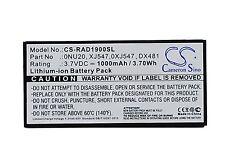3.7V Battery for DELL E2K-UCP-61(B) NP007 SAS 6/IR Perc 5i 0NU209 Premium Cell