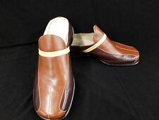 dca32269a186 Size 9M Halogen Jasper Women Flat Slip-on Shoes Cream Brown