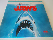 Laser Video Disc Jaws Extended Play VGC
