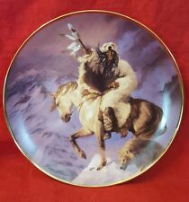 """Franklin Mint """"Spirit of the North Wind"""" Limited Edition Collector's Plate 1995"""