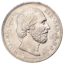 HMM - Niederlande Willem III. 2 1/2 Gulden 1870 KM 82 Gutes ss - 180816001
