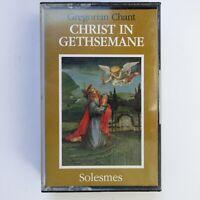 Gregorian Chant Christ In Gethsemane (Cassette)