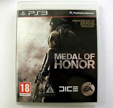 MEDAL OF HONOR PS3 - jeu pour Sony Playstation 3 - Game for Playstation 3