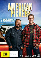 AMERICAN PICKERS - PLANES FRAMES & AUTOMOBILE  - DVD - UK Compatible