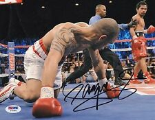 Manny Pacquiao *Pacman* autographed Boxing Champion 8x10 photo PSA/DNA Y72689