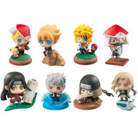 Anime 8 PCS Lot Naruto PVC Figures Set Uzumaki Toy Collection Boruto Figure 6 cm