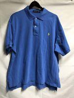 Polo Ralph Lauren Polo S/S Shirt Mens 2XB Big Blue FREE SHIPPING