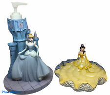 Cinderella Lotion Dispenser and Belle Soap Dish