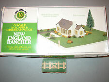 BACHMANN O SCALE 1986 NEW ENGLAND RANCHER & GATE & FENCE PARTS LOT #T-63