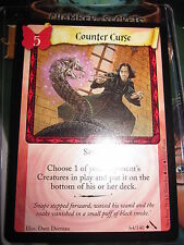 HARRY POTTER TCG CARD CHAMBER OF SECRETS COUNTER CURSE 64/140 UNCO MINT ENGLISH