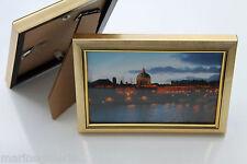 cadre doré photo 10x15 Lot de 2 Neuf sous verre + patte arrière stock France
