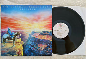 LP Vinyl - THE MARSHALL TUCKER BAND dedicated - WB 56887 - SOUTHERN ROCK