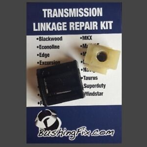 Lincoln MKT Transmission Shift Cable Repair Kit w/ bushing Easy Install