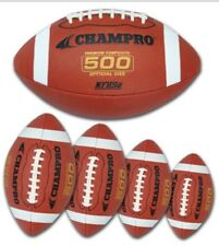 New Champro FB5 500 Series Premium Composite Cover American Football PeeWee Size