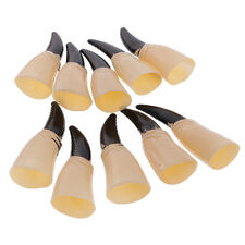 10xCosplay Zombie Witch Gloves False Nail Fake Finger Claw for Costume