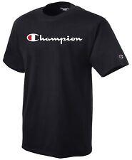 Champion Para Hombre T-Shirt Script Logo Regular Fit Negra Para Skate $40 Nuevo