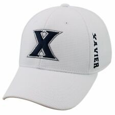 XAVIER MUSKETEERS NCAA STRETCH FLEX FIT 1-FIT TOW CAP HAT NWT! ALL WHITE