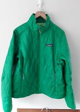 Patagonia Jacket Primaloft Womens Green Ladies Jacket Nano Puff Size Medium