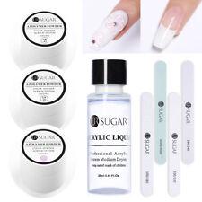 UR SUGAR 15ml Acrylic Powder Nail Kit Acrylic Liquid French Tool File Buffer DIY