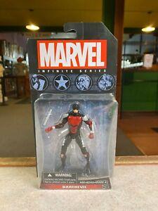 "Hasbro Marvel Universe Legends 3.75 Series 4"" Inch ARMORED DAREDEVIL Figure MOC"