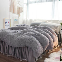 Soft Warm Bed Sofa Throw Over Blanket Sofa Fluffy Shaggy Cozy Bedspread UK