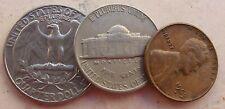 Stati Uniti d'America: lotto misto Dollaro Americano con 3 governatori - n. 1142