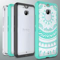 For HTC Bolt / 10 Evo Case Hard Back Soft Bumper Hybrid Slim Phone Cover