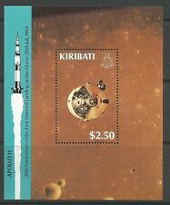 KIRIBATI. 1989. Moon Atterrissage Miniature Feuille SG: MS309.