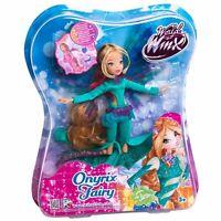 Winx Club Onyrix Fairy FLORA Doll 28cm Rainbow New In Box