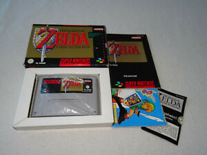 Zelda a Link to the Past Super Nintendo SNES Spiel komplett mit OVP & Anleitung