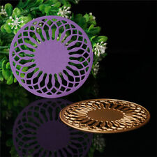 Metal Circle Gold DIY Cutting Dies Stencil Scrapbook Album Card Embossing Craft.