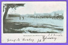 SOUTH AFRICA MARKET SQUARE KING WILLIAMS TOWN POSTCARD