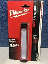 Milwaukee 2112-21 LED Rover USB Rechargeable Pocket Flood Light Kit 445 Lumens