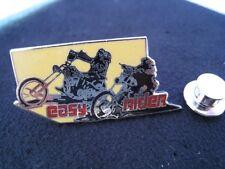 Pin's Folies Rare Enamel pin Badge Cinema Movie Easy rider Harley Davidson Moto