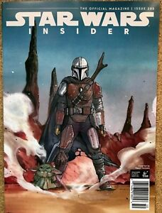 STAR WARS INSIDER MAGAZINE #200 (NM) PX VARIANT - PEACH MOMOKO - THE MANDALORIAN