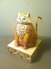 Jim Shore Elijah Cat Figurine Heartwood Creek 2003-Collectible & Cute