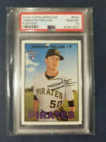 2016 Topps Heritage #630 JAMES TAILLON RC Portrait Pirates Rookie Card PSA 10