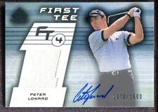 2003 SP Game Used #68 - Peter Lonard   1370/1500