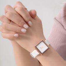 Square Dial Women's Wrist Watch New Fashion Vintage Leather Watch Quartz Watches