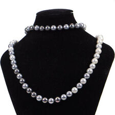 Pearl Glass Beaded Costume Necklaces & Pendants