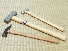 3 pcs set Japanese Chisel Hammer Genno Japan Carpentry Craftsman tool [USA]Bc9