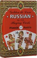 "Playing cards Piatnik ""Golden Russia"" 36 Cards Deck Classic Set Made in Austria"