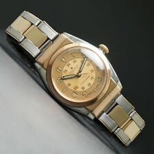 Outstanding 1944 Rolex 3065 Rose Gold Stainless Steel Hooded Bubbleback All Orig