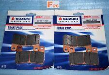 4 plaquettes de frein d'origine SUZUKI GSXR 1000 2009/2011 59100-47890