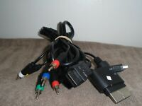 Component HD AV Cable for Xbox 360, Wii, PS2 & PS3 Video Game Multi-Cable