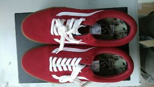 Vans Old Skool Pro S Golf Wang Red Sneaker US10 Rare New