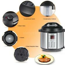 15-in-1 Electric Pressure Cooker Programmable Stainless Steel 6-Quart 1000-Watt