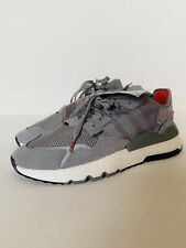 """New With Tags Adidas 3M X Nite Jogger """"Grey"""" Size 9 Scotchlite Shoes Red"""